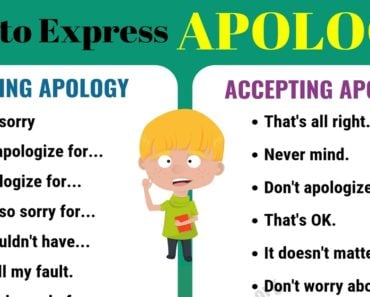 How to Accept An Apology in English 3