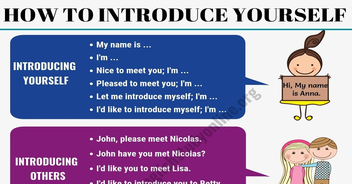 Powerful Ways of Introducing Yourself and Others in English 6