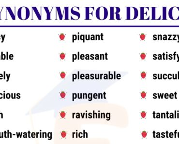 60 Synonyms for Delicious with Examples in English 2