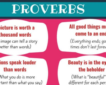 Most Common Proverbs in English with Meanings 2