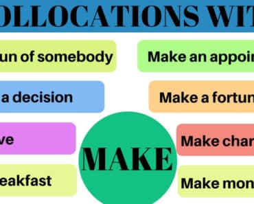 40 Commonly Used Collocations with MAKE in English 6