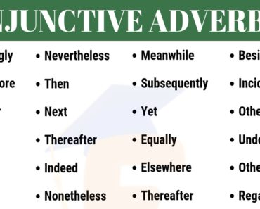 Conjunctive Adverbs List | English Grammar Rules & Usage 4