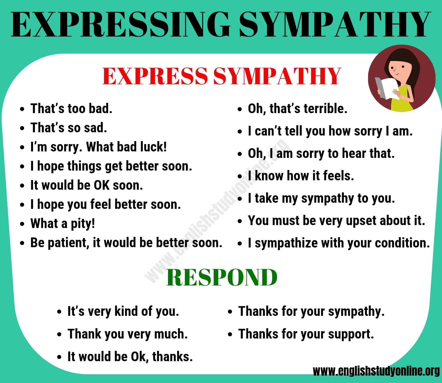 How to Express Sympathy
