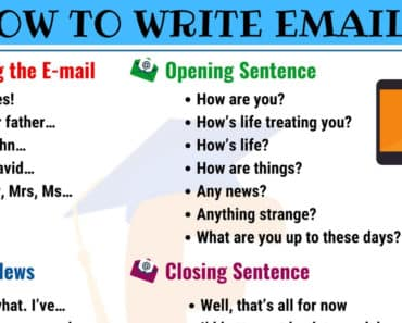 Useful Ways of Writing Emails in English 7