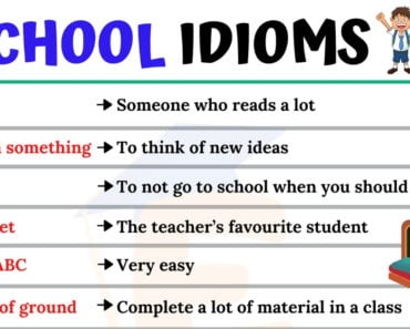 School Idioms | 10 Useful Idioms Relating to School for ESL Learners 6
