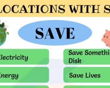 15+ Commonly Used Collocations With SAVE in English 4