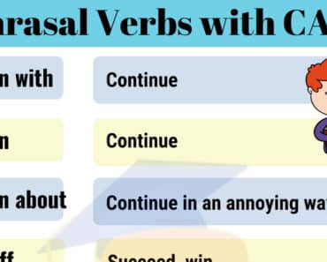 Phrasal Verbs with CARRY | 8 Useful Phrasal Verbs with Carry in English 4