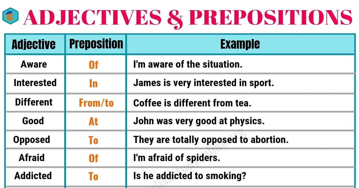Collocation Examples | 60+ Powerful Adjectives and Prepositions 1