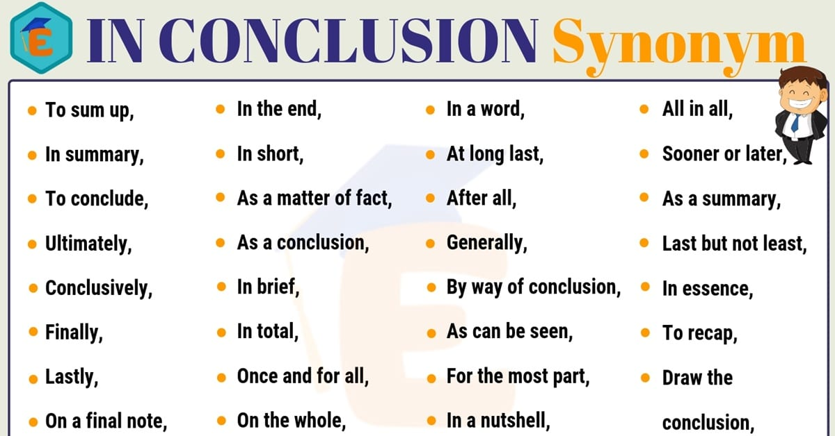 In Conclusion Synonym | 30+ Useful Synonyms for In Conclusion 1