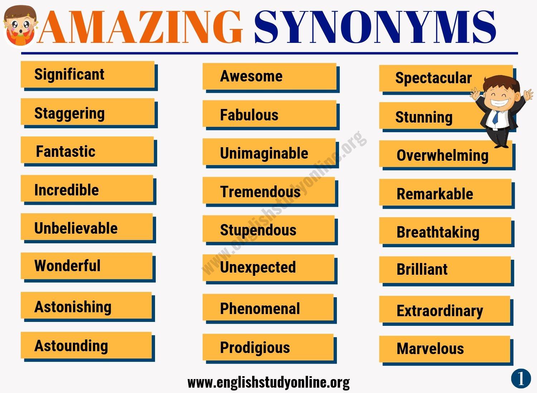 Amazing Synonym