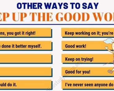 "80 Useful Ways to Say ""Keep Up The Good Work!"" in English 6"