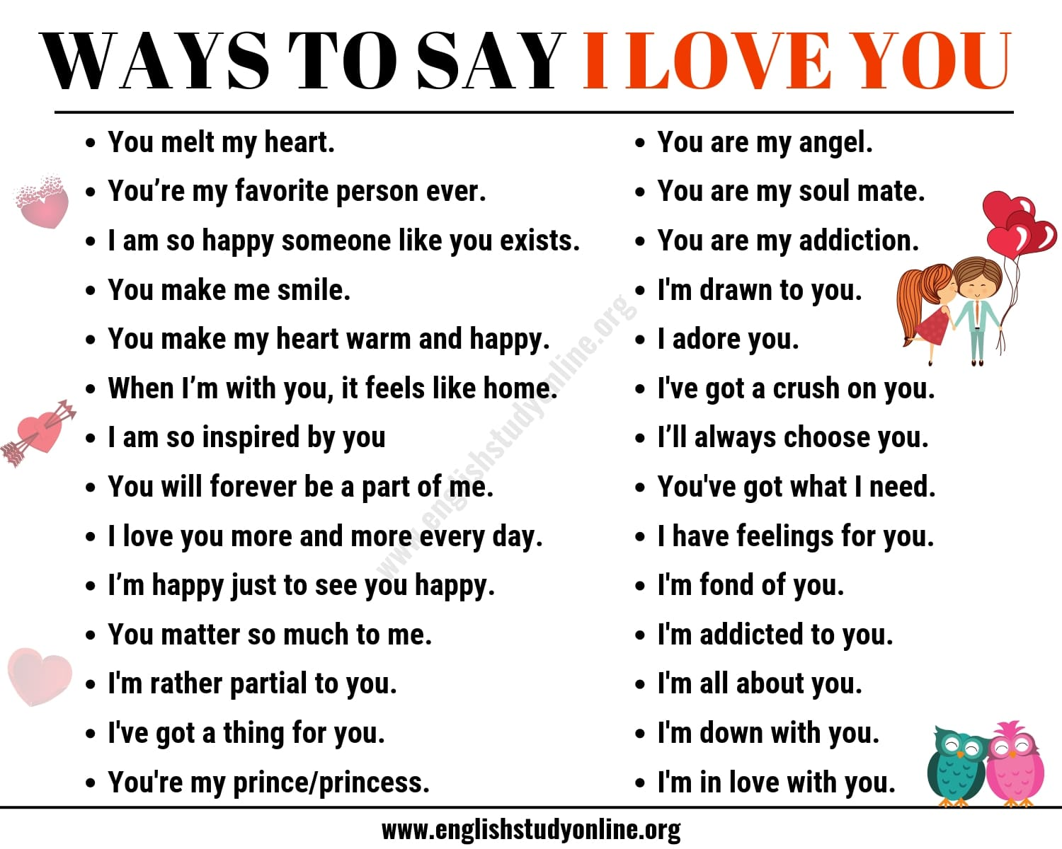 What to say instead of i love you