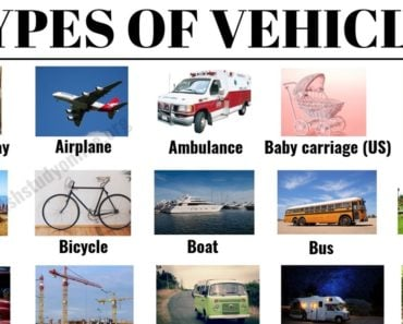 Types of Vehicles: List 30+ Vehicle Names with Examples and ESL Images 2
