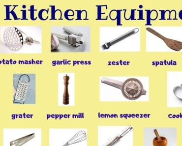 Kitchen Equipment: Useful List of 55+ Kitchen Utensils with Picture 3