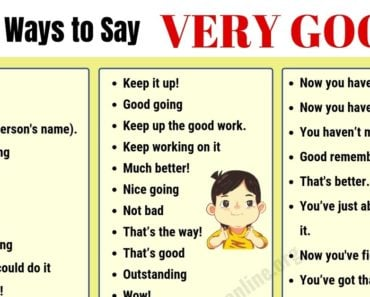 Very Good Synonym: 109 Useful Ways to Say VERY GOOD in English 2