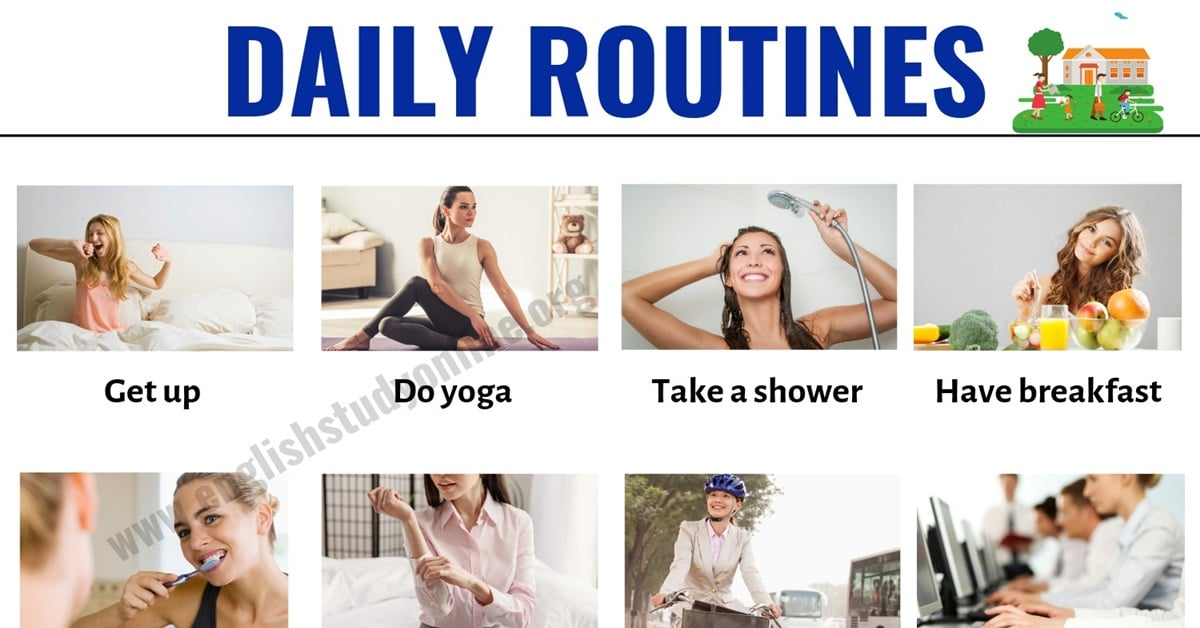 Daily Routine: How to Talk about Your Daily Activities in English 2