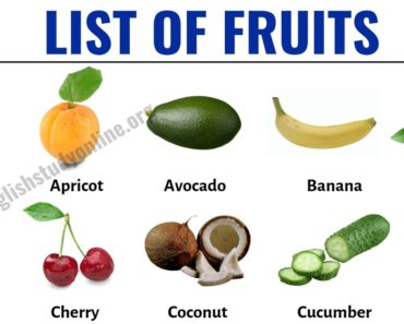 List of Fruits: List of 40+ Popular Fruit Names with Useful Examples 4