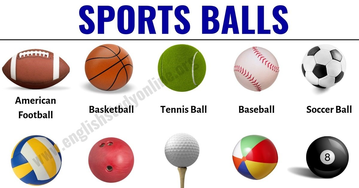 Sports Balls List Of 25 Popular Ball Games Around The