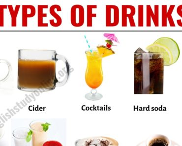 Types of Drinks: List of 20 Popular Drink Names with Their Pictures 10