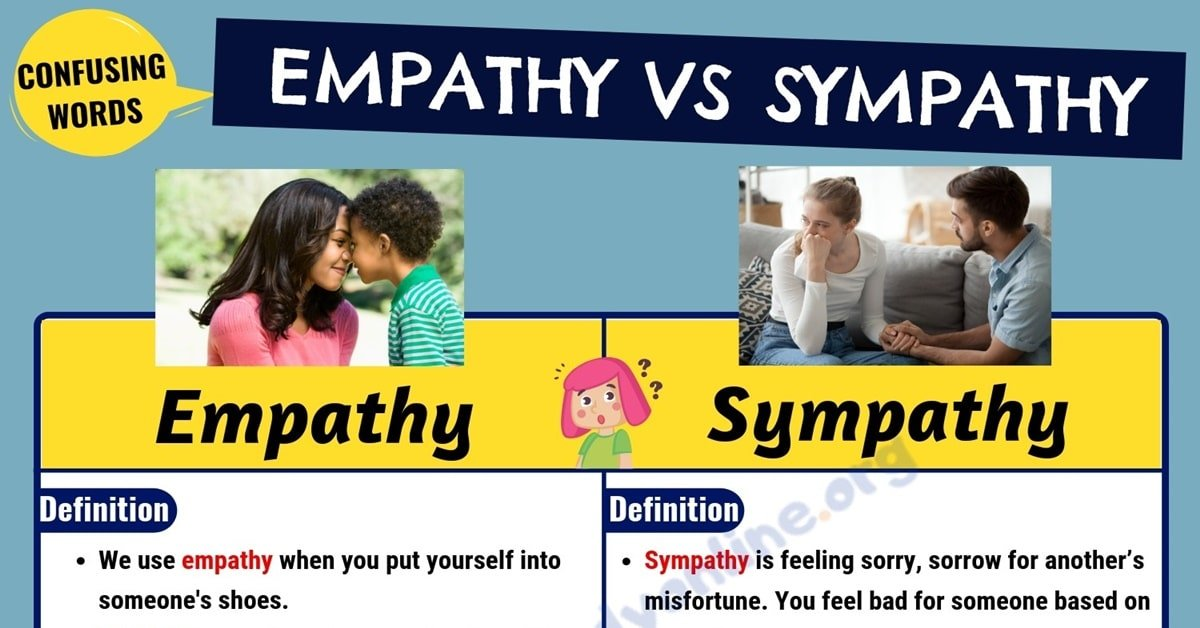 Empathy vs Sympathy: How to Use These Words Properly in English 1