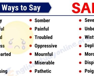 SAD Synonym: List of 35 Useful Synonyms for SAD in English 3