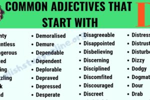 A Huge List of 100+ Adjectives That Start with D with ESL Image 8