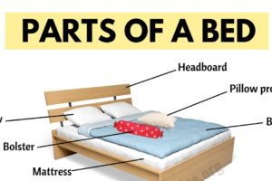 Parts of A Bed: Learn Useful Vocabulary about Bed Parts 4