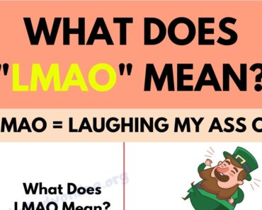 LMAO: What Do You Know about This Popular Internet Slang Term? 5
