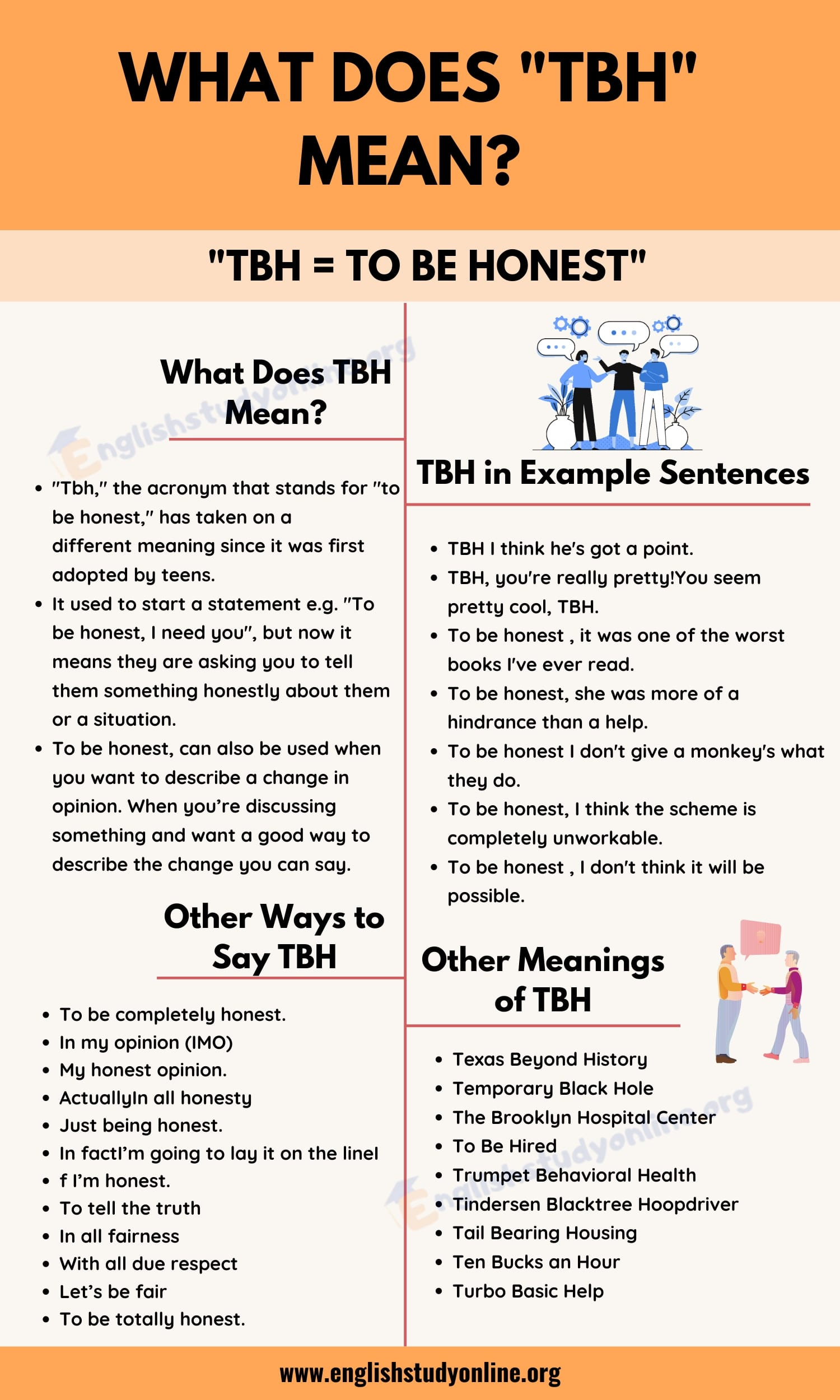 Tbh Meaning What Does This Popular Abbreviation Mean In Online Texting English Study Online