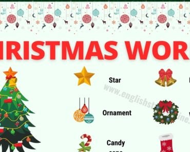 Christmas Words: List of 40+ Interesting Christmas Vocabulary 7