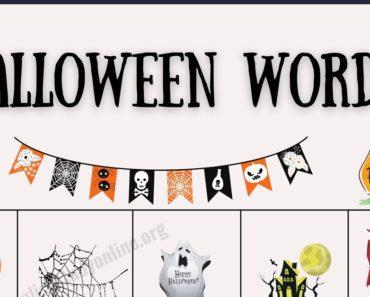 Halloween Words: 25 Interesting Halloween Vocabulary Words 3