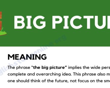 The Big Picture: Definition, Origin and Useful Examples 6
