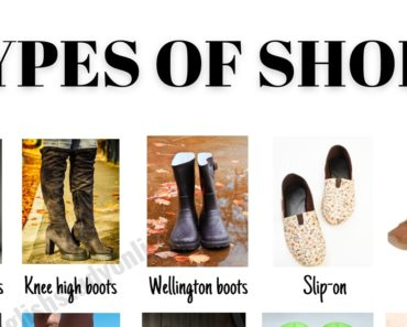 Types of Shoes: 53 Useful Names for Shoes with ESL Images 8