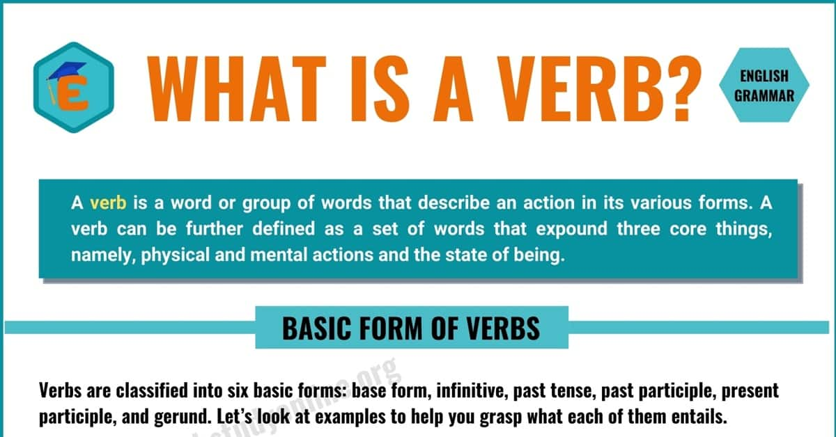 Verb | Definition, Types of Verbs with Useful Examples 9